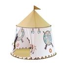 兒童帳篷室內游戲屋家用嬰兒寶寶印第安獅子城堡玩具屋男女孩玩具  ATF  poly girl