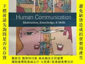 二手書博民逛書店Human罕見Communication: Motivation