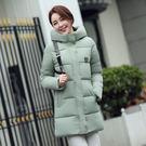 棉襖女韓國秋冬新款大碼顯瘦中長款棉服女裝羽絨棉衣服加厚外套