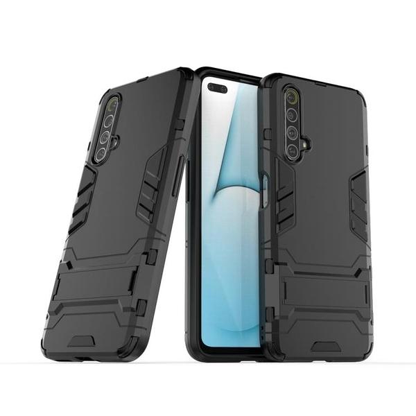 OPPO Realme X3 C11 ACE 2 鎧甲支架殼 矽膠軟邊硬殼 霧面防指紋防摔殼
