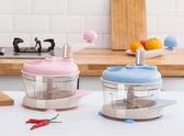 絞肉機 小型攪拌機餃子餡手搖碎菜機剁肉切辣椒神器
