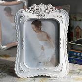 相框-相框6寸7寸8寸10寸 白色鑲鑽ABS樹脂相框工藝相框創意相架生日禮物A02 多莉絲旗艦店