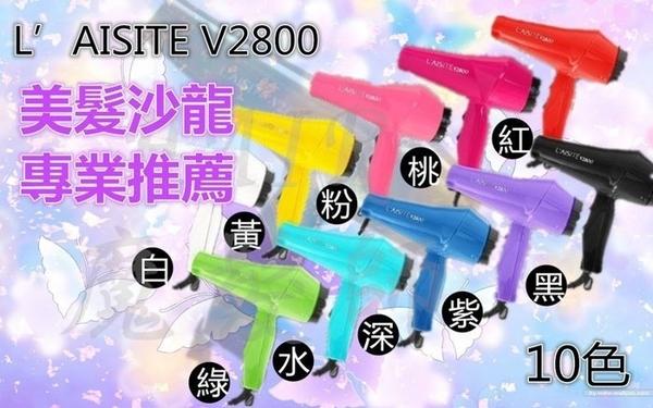 (現貨特價)萊斯特 L'AISIT V2800 專業美髮沙龍吹風機 輕型強風 輕吹 適風罩*HAIR魔髮師*