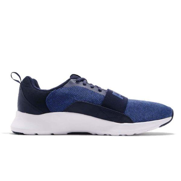 PUMA Wired Knit 男鞋 女鞋 休閒 慢跑 輕量 透氣 舒適 避震 藍 黑 白【運動世界】36697102