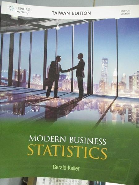 【書寶二手書T7/大學商學_YAT】Modern business statistics_Gerald Keller[作