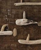 漂流之島:小亨利的微型漂流木創作