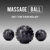 健身按摩球 肌肉放鬆筋膜球足底腳底放鬆球瑜伽花生球刺?球