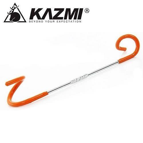 丹大戶外【KAZMI】2WAY多功能營燈掛勾/適用16mm~32mm/營燈柱鉤環/營燈勾/置物勾K3T3L003