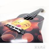 -彩色卡通24寸烏克麗麗 烏克麗麗小四弦 小吉他 AUP-24-45YJT 流行花園