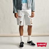 Levis 男款 牛仔短褲 / 511修身版型 / 大破壞 / 重磅 / 彈性布料