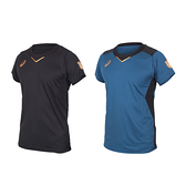 ASICS 男排球短袖T恤(免運 吸濕排汗 亞瑟士 運動 訓練 上衣≡排汗專家≡
