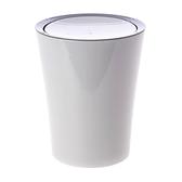 諾拉搖蓋垃圾桶2.5L 灰