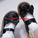 娃娃鞋女夏日系洛麗塔軟妹復古圓頭JK制服小皮鞋女單鞋【聚可愛】