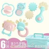 新生嬰兒玩具6-12個月男孩益智幼兒牙膠手搖鈴女孩寶寶0-1歲小孩3 蜜拉貝爾