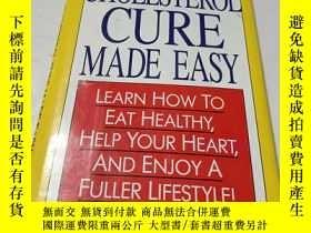 二手書博民逛書店cholesterol罕見cure made easy 精裝Y9212