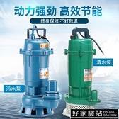 潛水泵家用220v污水泵小型化糞池抽糞抽水泵井水自吸抽水機高揚程