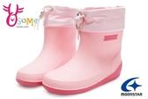 Moonstar月星雨鞋 女童雨靴 止滑輕量柔軟運動雨鞋H9620#粉紅◆OSOME奧森鞋業