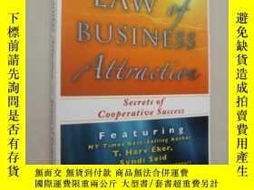 二手書博民逛書店The罕見law of business attraction: