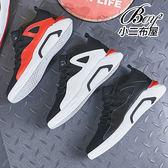 運動鞋 美式設計撞色微增高休閒慢跑鞋【JP99820】