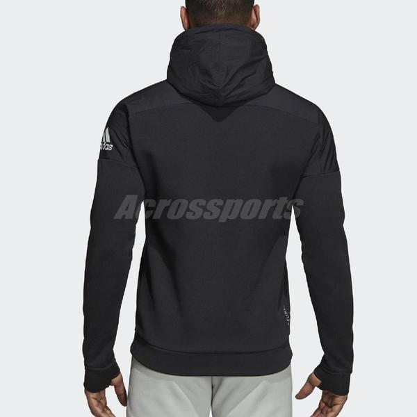 adidas 連帽外套 Climaheat Stadium Jacket 黑 基本款 男款 【PUMP306】 CW3252