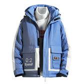 男士外套厚款 羽絨百搭棉襖上衣 男裝冬天保暖男款冬季冬裝棉服 型男夾克加絨 男生外套加厚