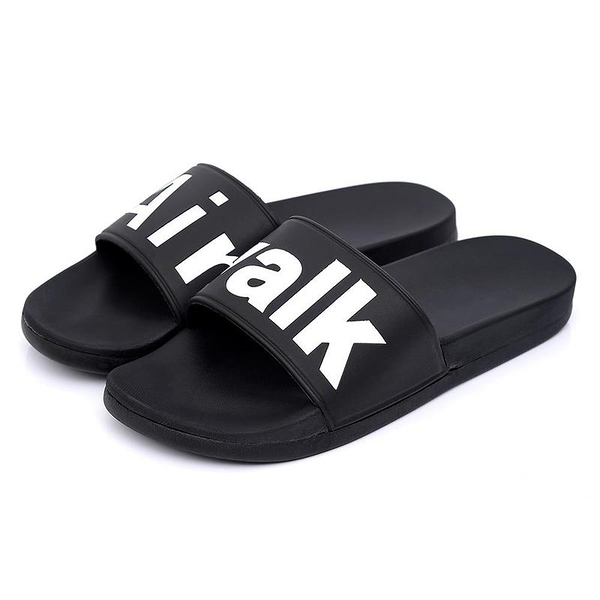 AIR WALK 男鞋 女鞋 拖鞋 休閒 柔軟 黑 【運動世界】 A825220320
