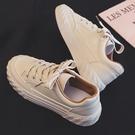 夏季新款小白板鞋女學生百搭帆布