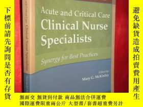 二手書博民逛書店Acute罕見and Critical Care Clinica