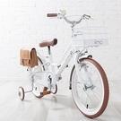 【日本iimo】兒童腳踏車16吋-時尚白...