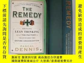 二手書博民逛書店The罕見Remedy:Bring lean thinking