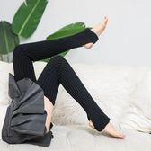 長筒襪 素色 保暖 針織 踩腳襪 堆堆襪 毛線 襪套 長筒 襪子【FS054】 icoca  10/25