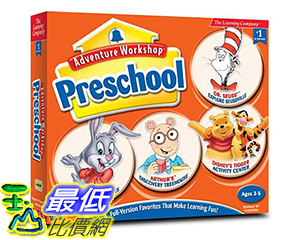 [106美國暢銷兒童軟體] Adventure Workshop Preschool (Jewel Case)