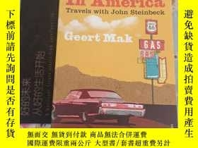 二手書博民逛書店In罕見america--travels with john steinbeckY324452 geert m