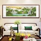 鴻運當頭新中式客廳裝飾畫畫風水靠山招財辦公室掛畫背景牆畫MBS「時尚彩紅屋」