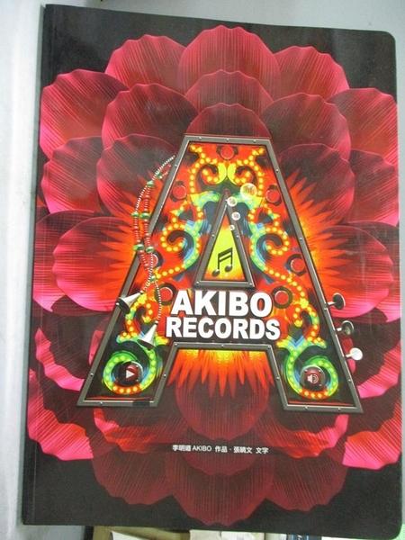 【書寶二手書T2/影視_ES9】AKIBO RECORDS 一場視覺演唱會(試讀本)_李明道