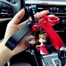 鑰匙圈情侶鑰匙扣一對汽車男士女抖音同款熱...