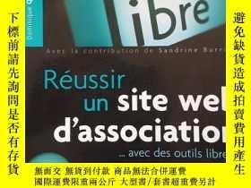 二手書博民逛書店Réussir罕見un site web d associati