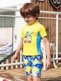 OOK兒童分體平角男童泳衣小孩寶寶泳衣小中童游泳衣溫泉韓國泳裝