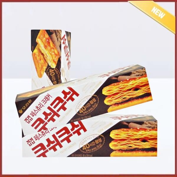 韓國ORION好麗友焦糖奶油千層酥打餅 黑麥蘇打餅