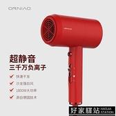 歐瑞鳥吹風機家用不傷髮理髮店大功率負離子電吹風筒冷熱風力靜音