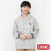 CHUMS 日本 女 學院風兜帽純棉外套 仙人掌 CH141004Z074