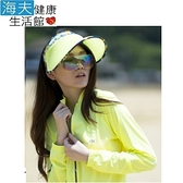 HOII SunSoul后益 防曬 UPF50 伸縮艷陽帽-黃光 印花