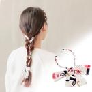 髪繩髮飾頭飾日系雪紡飄帶細款【奇趣小屋】
