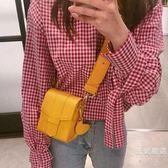 斜背包 手機包 夏季新款女時尚可愛百搭單肩斜跨鍊條小方包迷你小包包【週年慶免運八折】