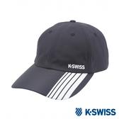 K-SWISS AT Cap防潑水運動帽-黑