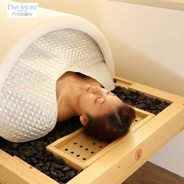 天沐岩盤浴│巨蛋岩盤浴60分+背部肌筋膜30分或逆齡臉護理60分