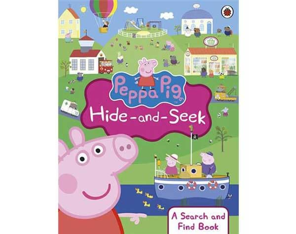 Peppa Pig:Hide And Seek 佩佩豬找一找 找找看活動書