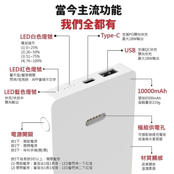 【多功能智慧!小智谷 行動電源】 正版台製 可變身小家電 10000mAh 行動電源