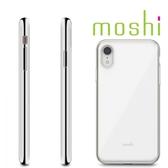 {原廠公司貨}Moshi iGlaze iPhone XR 風尚晶亮保護殼-珍珠白