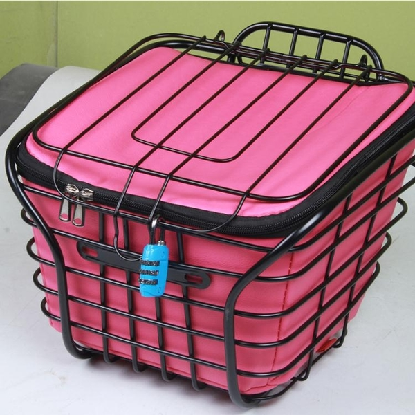 車籃 電動電瓶車前車筐內包車籃內襯保溫防水罩內簍菜籃筐內膽電瓶車包 風馳